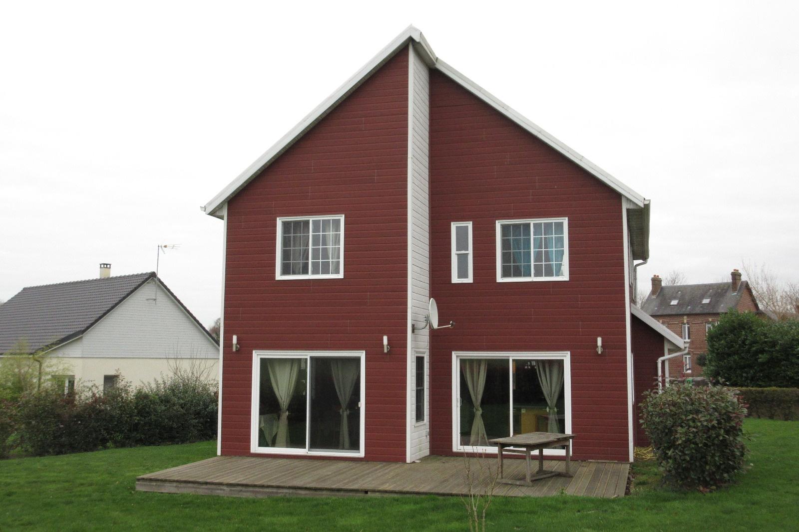 Vente maison ossature bois for L ossature bois